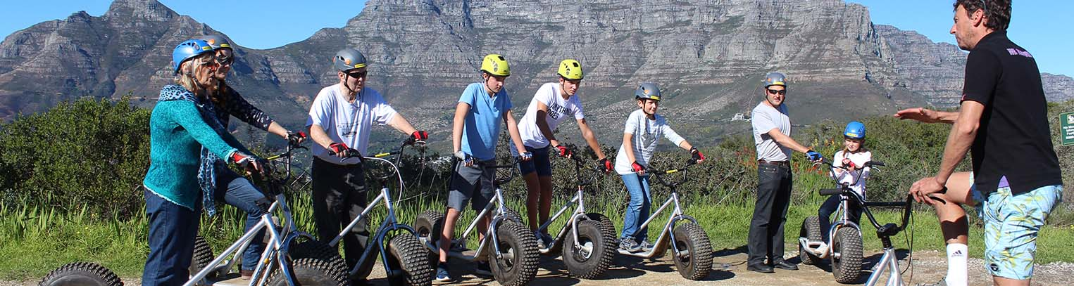 Scootours - Table Mountain